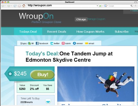 Wroupon:deals,offers,coupons...