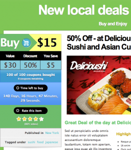 New local deals every day