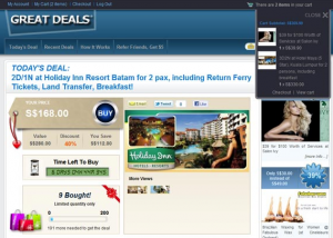 Great Deals Group Buying Extension (Groupon alike)